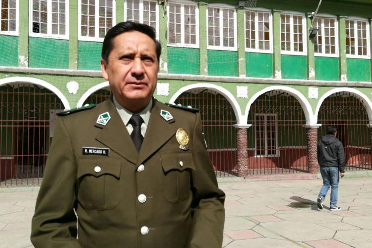 Coronel: Rino Mercado Heredia
